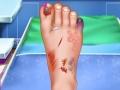 Больница: Лечить ногу принцессе