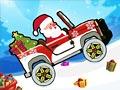 Санта везет подарки