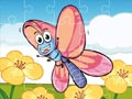 Бабочки пазлы